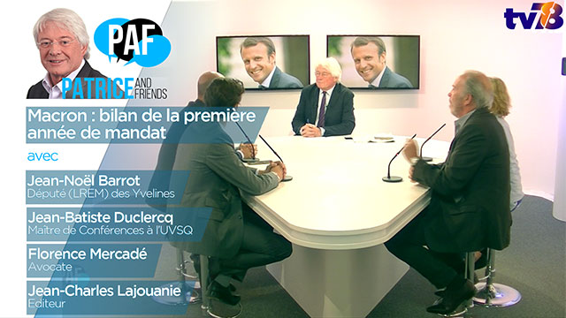 PAF – Patrice and Friends – Emission du 7 mai 2018