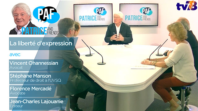 PAF – Patrice and Friends – Emission du 17 mai 2018