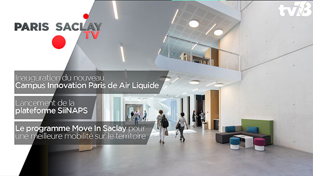 PARIS-SACLAY TV – Septembre 2018