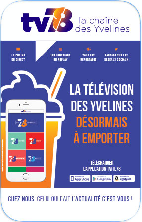 l'application tv78, disponible sur smartphones et tablettes