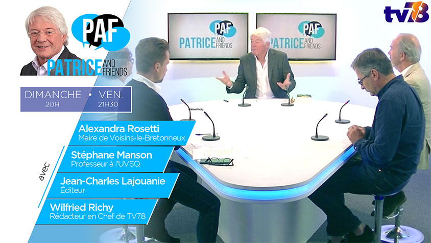 PAF – Patrice Carmouze and Friends – Emission du 6 septembre 2019