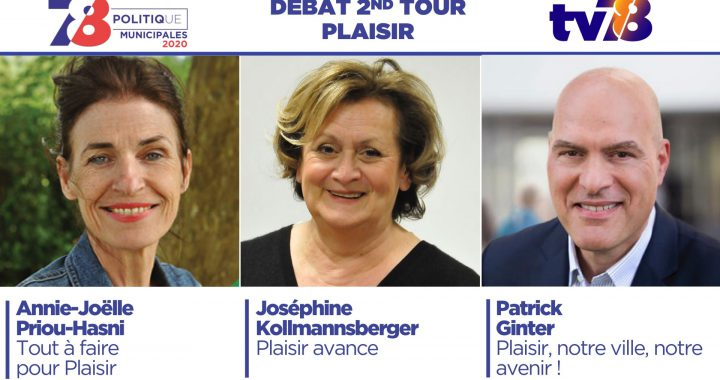 Municipales 2020. Débat du second tour à Plaisir