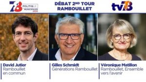 Municipales 2020. Débat du second tour à Rambouillet