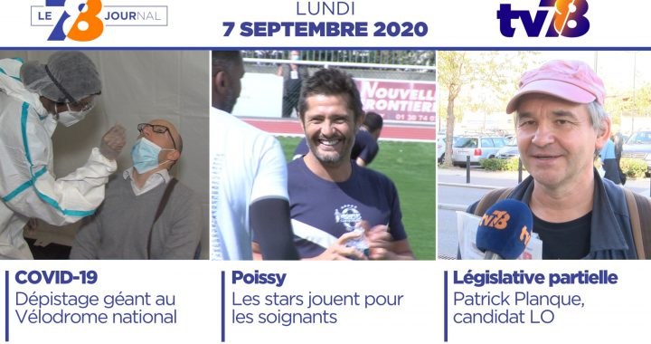 7/8 Le Journal. Edition du 7 septembre 2020