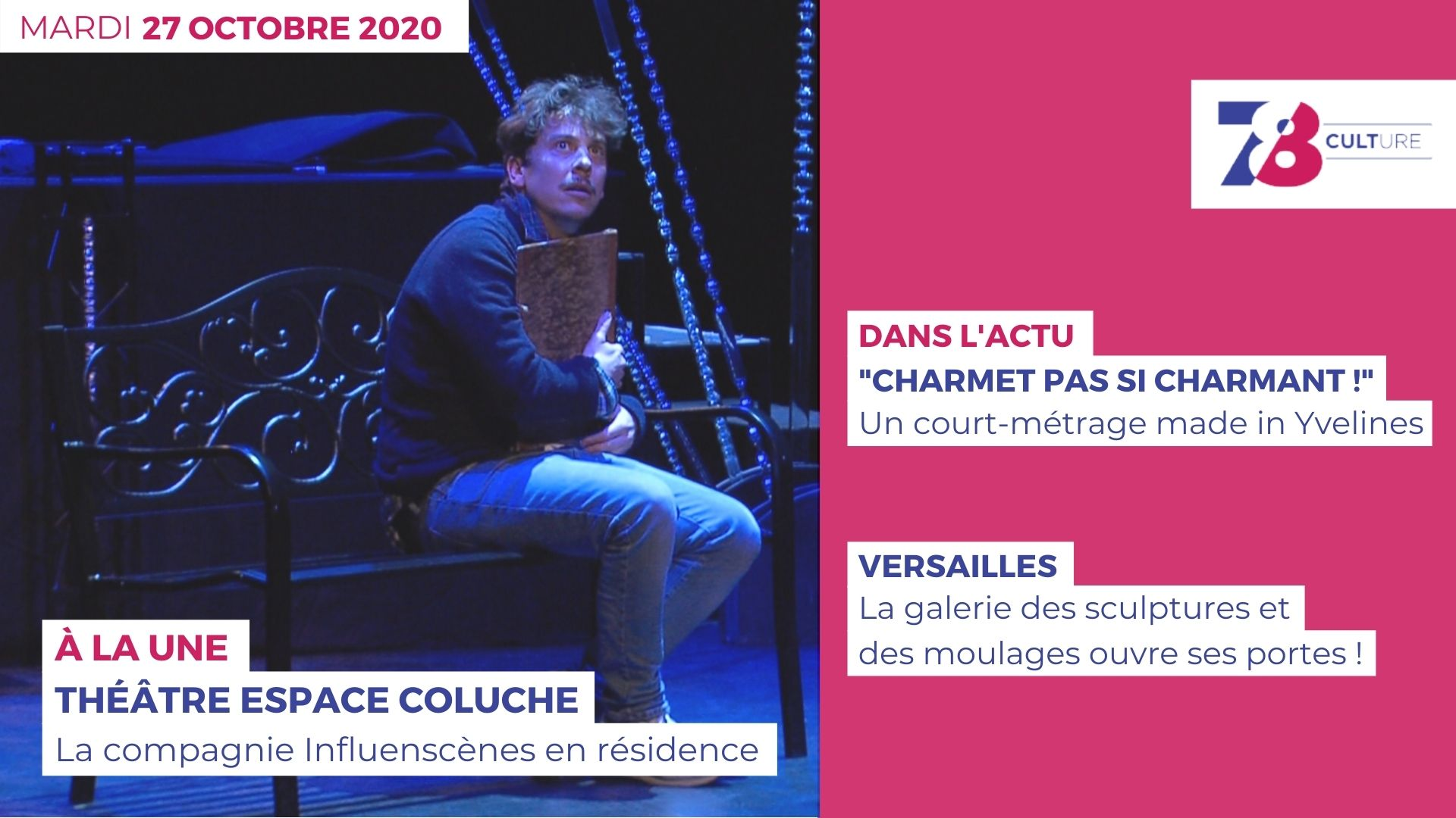 7/8 Culture. Emission du 27 octobre 2020