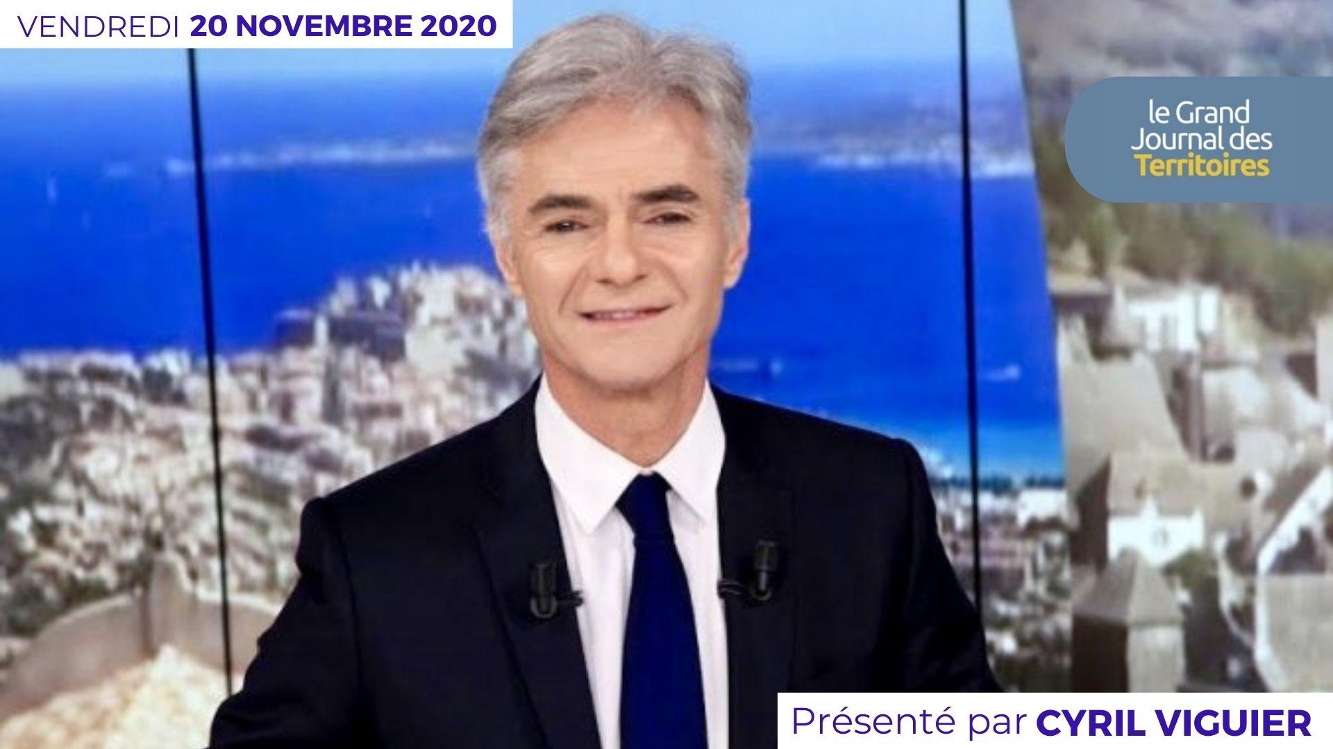 Le Grand JT des Territoires – 20 novembre 2020
