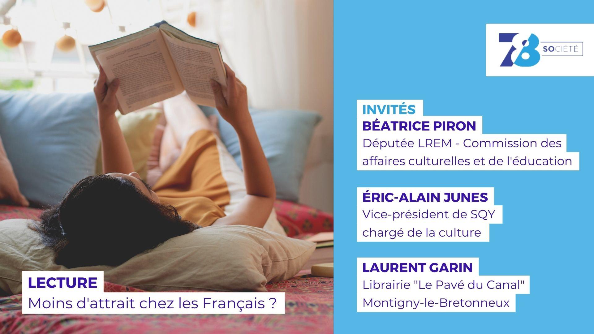7/8 Société. Lecture : moins d'attrait chez les Français ?